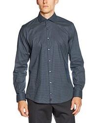 blaues Businesshemd von Strellson Premium