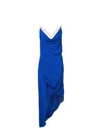 blaues Camisole-Kleid aus Seide von Haney