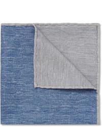 blaues Einstecktuch von Brunello Cucinelli