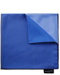 blaues Einstecktuch von Lanvin