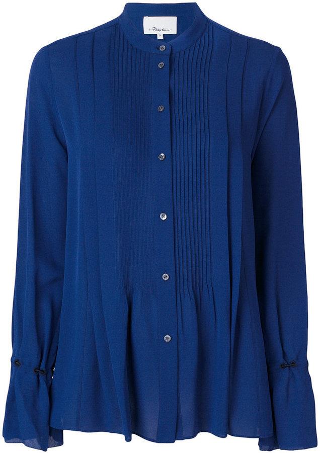 blaues Hemd von 3.1 Phillip Lim