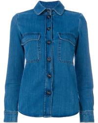 blaues Hemd von Chloé