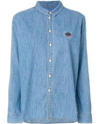 blaues Hemd von Kenzo