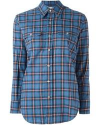 blaues Hemd von Saint Laurent
