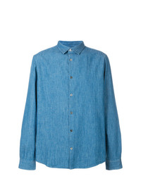 blaues Jeanshemd von A.P.C.