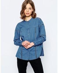 blaues Jeanshemd von Asos