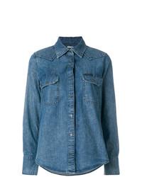 blaues Jeanshemd von Calvin Klein Jeans