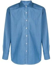 blaues Jeanshemd von Canali