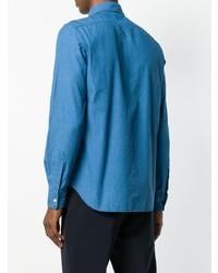 blaues Jeanshemd von Aspesi