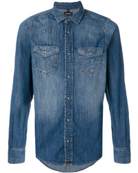 blaues Jeanshemd von Diesel