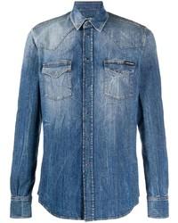 blaues Jeanshemd von Dolce & Gabbana