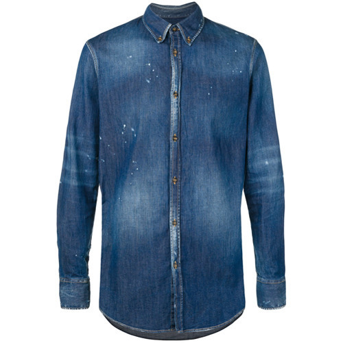 blaues Jeanshemd von DSQUARED2