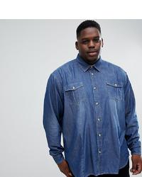 blaues Jeanshemd von Duke