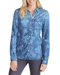 blaues Jeanshemd von Eddie Bauer