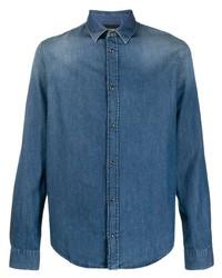 blaues Jeanshemd von Emporio Armani
