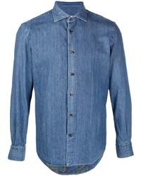 blaues Jeanshemd von Etro