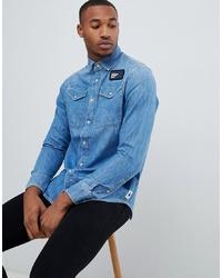 blaues Jeanshemd von G Star