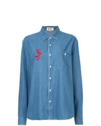 blaues Jeanshemd von G.V.G.V.Flat