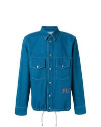 blaues Jeanshemd von Golden Goose Deluxe Brand