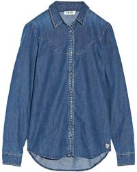 blaues Jeanshemd von Kenzo