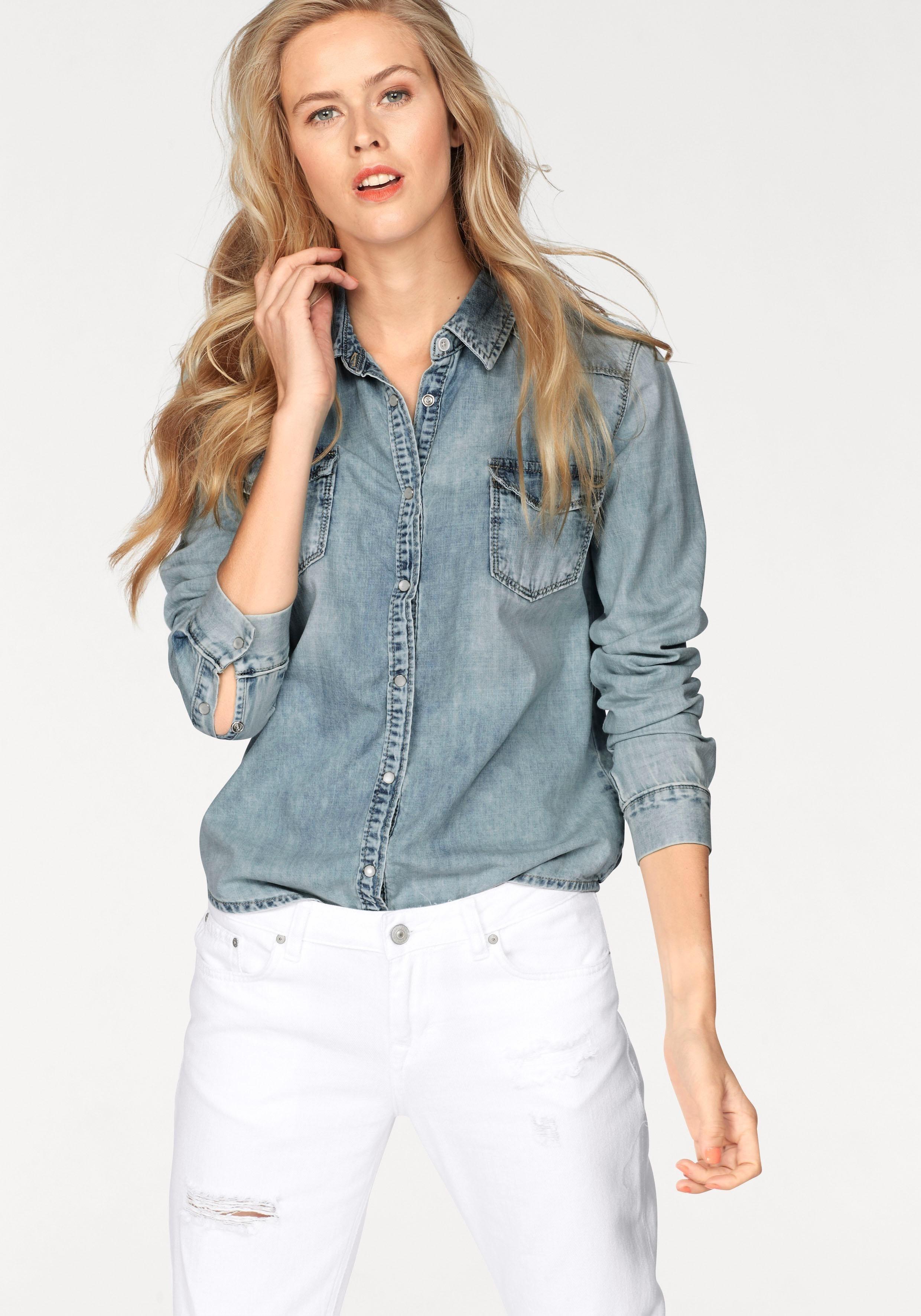 blaues Jeanshemd von LTB