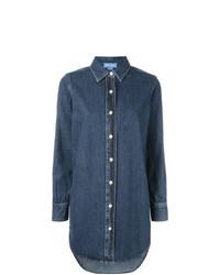 blaues Jeanshemd von MiH Jeans