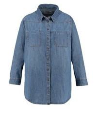 Blaues Jeanshemd von New Look