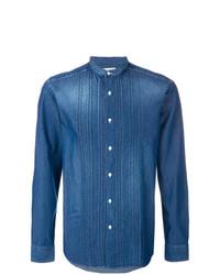blaues Jeanshemd von Paolo Pecora