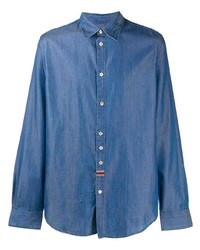 blaues Jeanshemd von Paul Smith