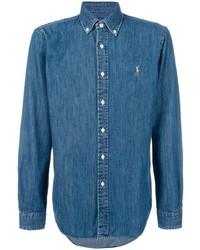 blaues Jeanshemd von Polo Ralph Lauren