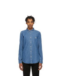 blaues Jeanshemd von Ps By Paul Smith
