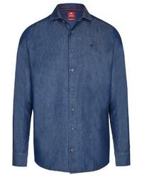 blaues Jeanshemd von Pure