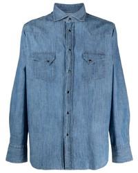 blaues Jeanshemd von Tagliatore