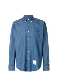 blaues Jeanshemd von Thom Browne