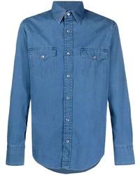 blaues Jeanshemd von Tom Ford