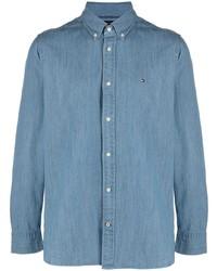 blaues Jeanshemd von Tommy Hilfiger