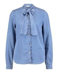 blaues Jeanshemd von Vila