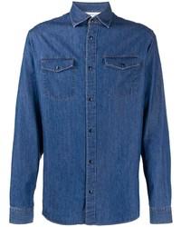 blaues Jeanshemd von Z Zegna