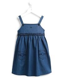 blaues Jeanskleid von Armani Junior