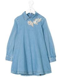 blaues Jeanskleid von Ermanno Scervino