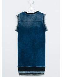 blaues Jeanskleid von Diesel
