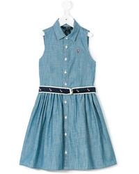 blaues Jeanskleid von Ralph Lauren