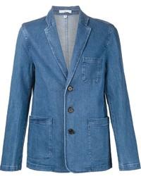 blaues Jeanssakko