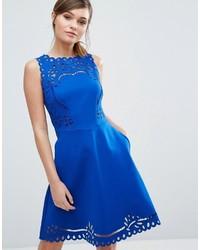 blaues Kleid von Ted Baker