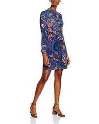 blaues Kleid von Versace