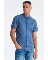 blaues Kurzarmhemd von BLEND