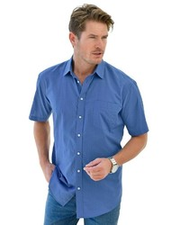 blaues Kurzarmhemd von CATAMARAN