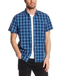 blaues Kurzarmhemd von Dickies