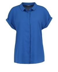 blaues Kurzarmhemd von KIOMI