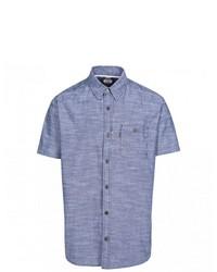 blaues Kurzarmhemd von Trespass